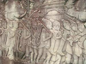 バイヨン壁画