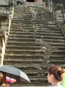 昇った階段