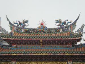 正門の屋根