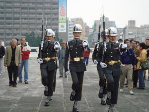 衛兵たちの行進