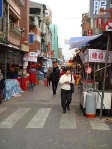迪化街入り口