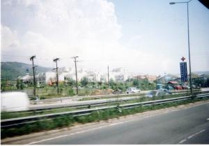 バスから見た病院