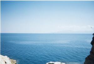 カヴァラの海