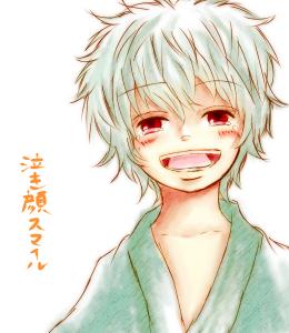 泣き顔スマイル