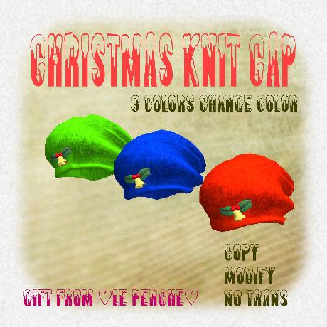 Knit cap panel_460