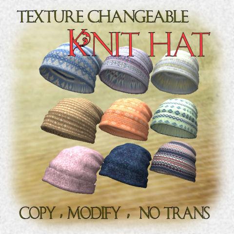 Knit hat 480
