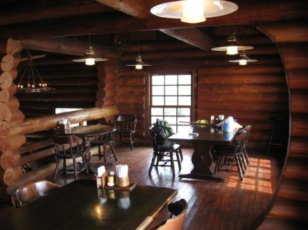 喫茶店の2階