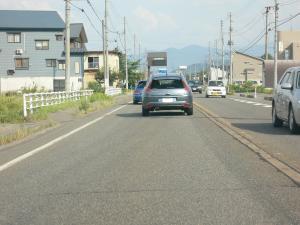 越後路のCITROEN C4(2)