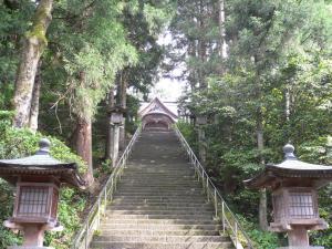 加茂 青海神社参道