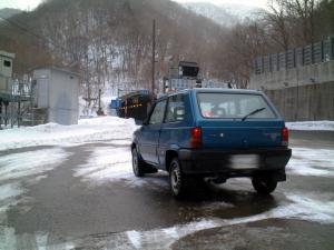 冬の三国峠越え(2)