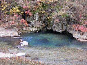 四万川の秋