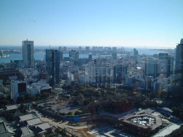 東京タワーからお台場方面の眺望