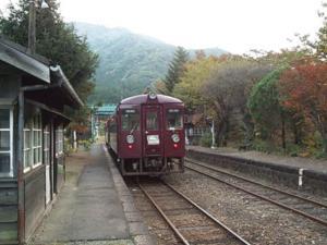 1999年渡良瀬渓谷の秋(1)