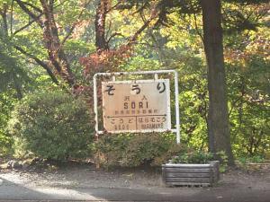 1999年渡良瀬渓谷の秋(2)