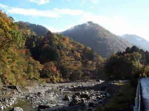 1999年渡良瀬渓谷の秋(3)