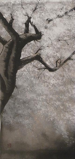 桜 タペストリー 2012404