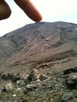 15阿蘇山高岳山頂はここ