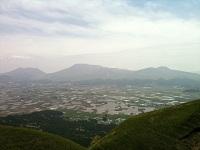 17大観峰より阿蘇五岳を望む