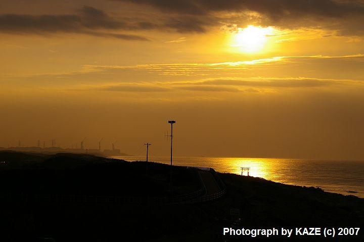 夜明けの遠州灘