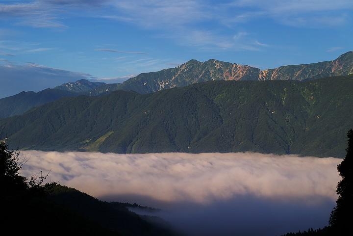 白馬黎明 そして雲海