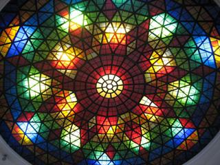 琉球ガラス村ステンドグラス